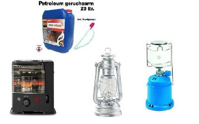 gas lampen vergleich