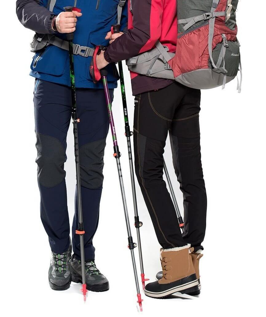 Trekkingstöcke entlasten deinen Körper auf langen Märschen und helfen bei der Survival-Vorbereitung